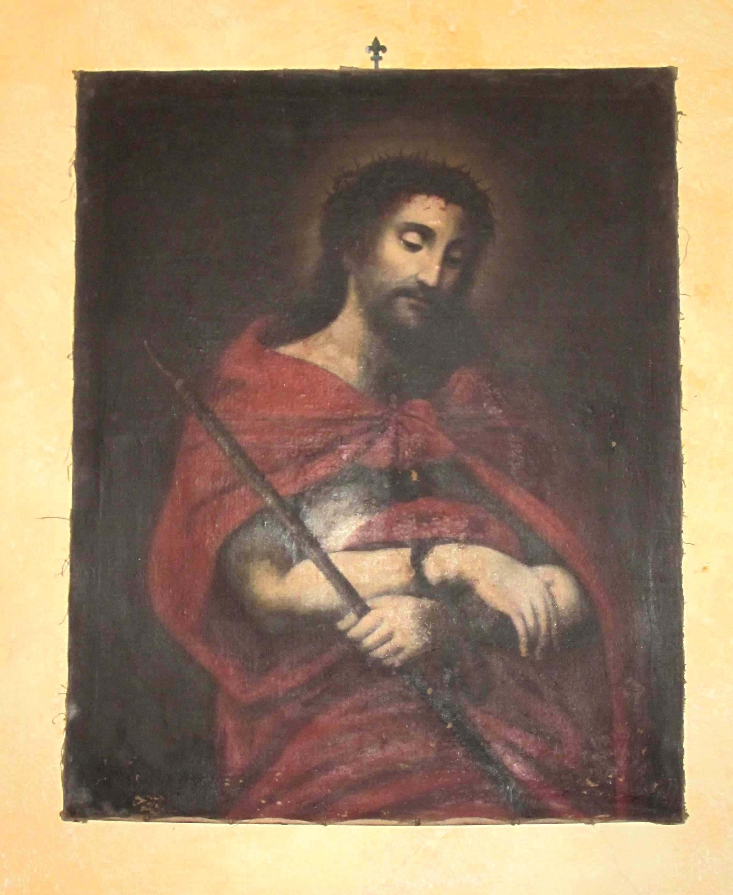 IGNOTO, Ecce Homo (copia, sec. XX)
