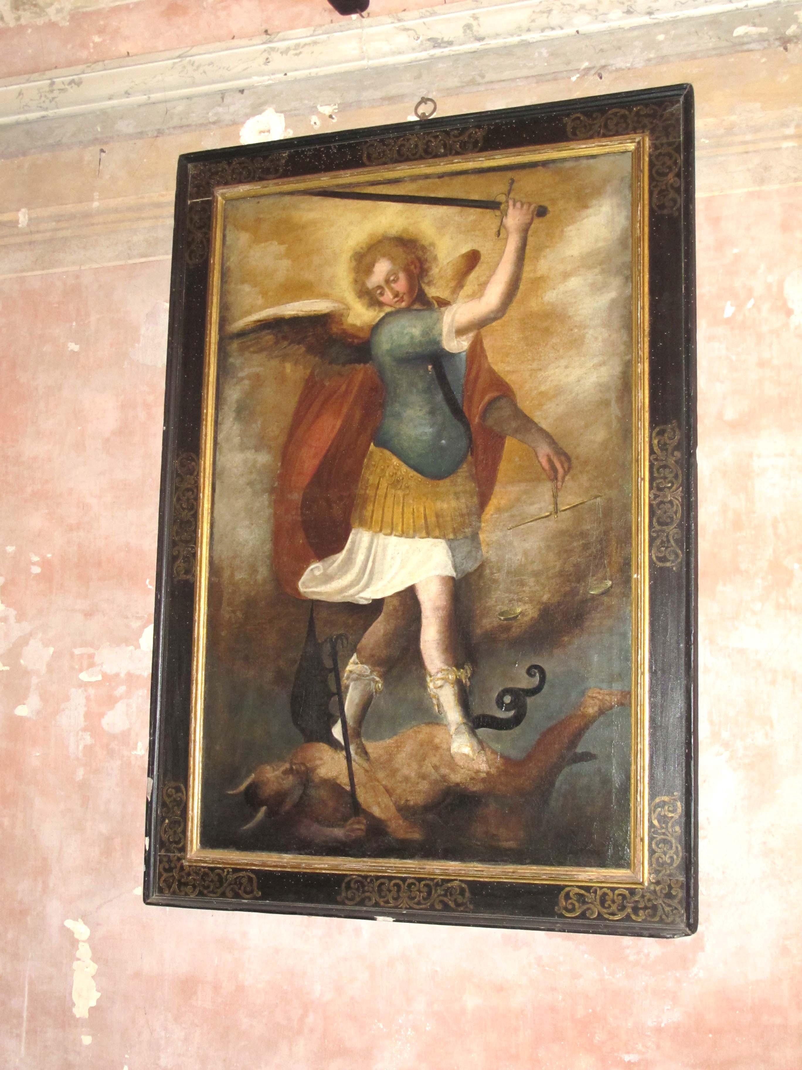 AUTORE IGNOTO, San Michele Arcangelo (1639?)