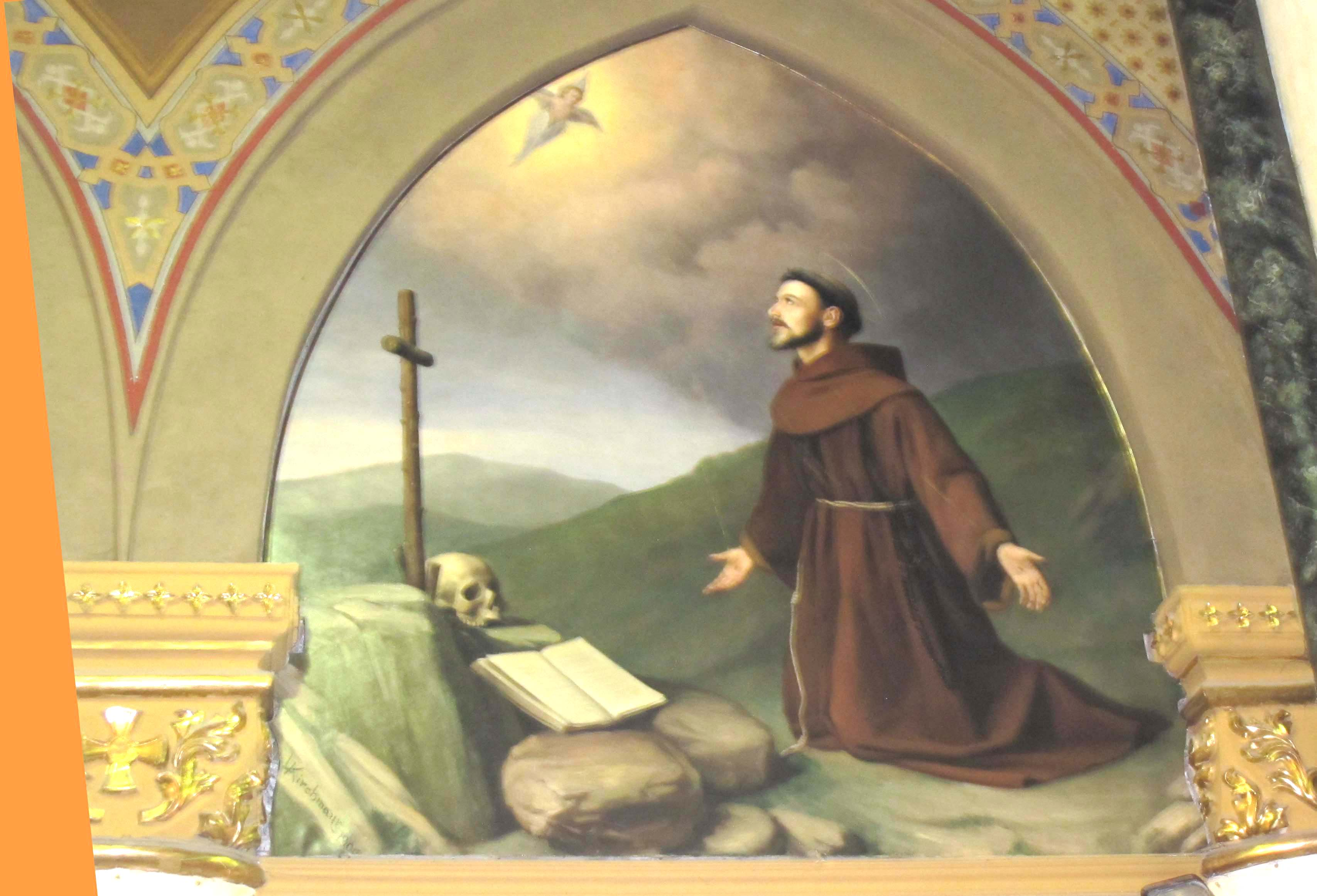 KIRCHMAYR ANGELO, San Francesco d'Assisi (1899 ca.)