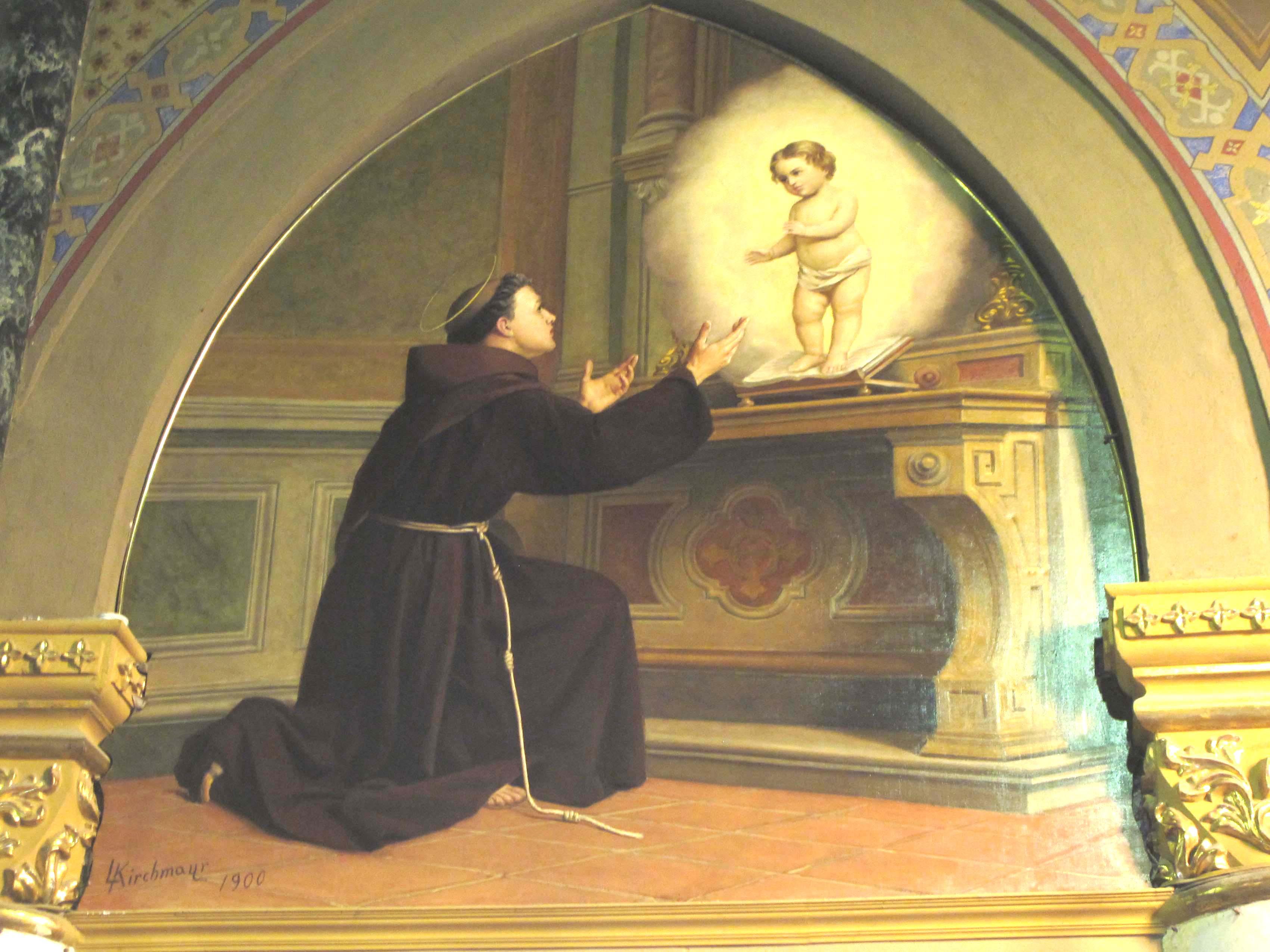 KIRCHMAYR ANGELO, Sant'Antonio da Padova (1899 ca.)