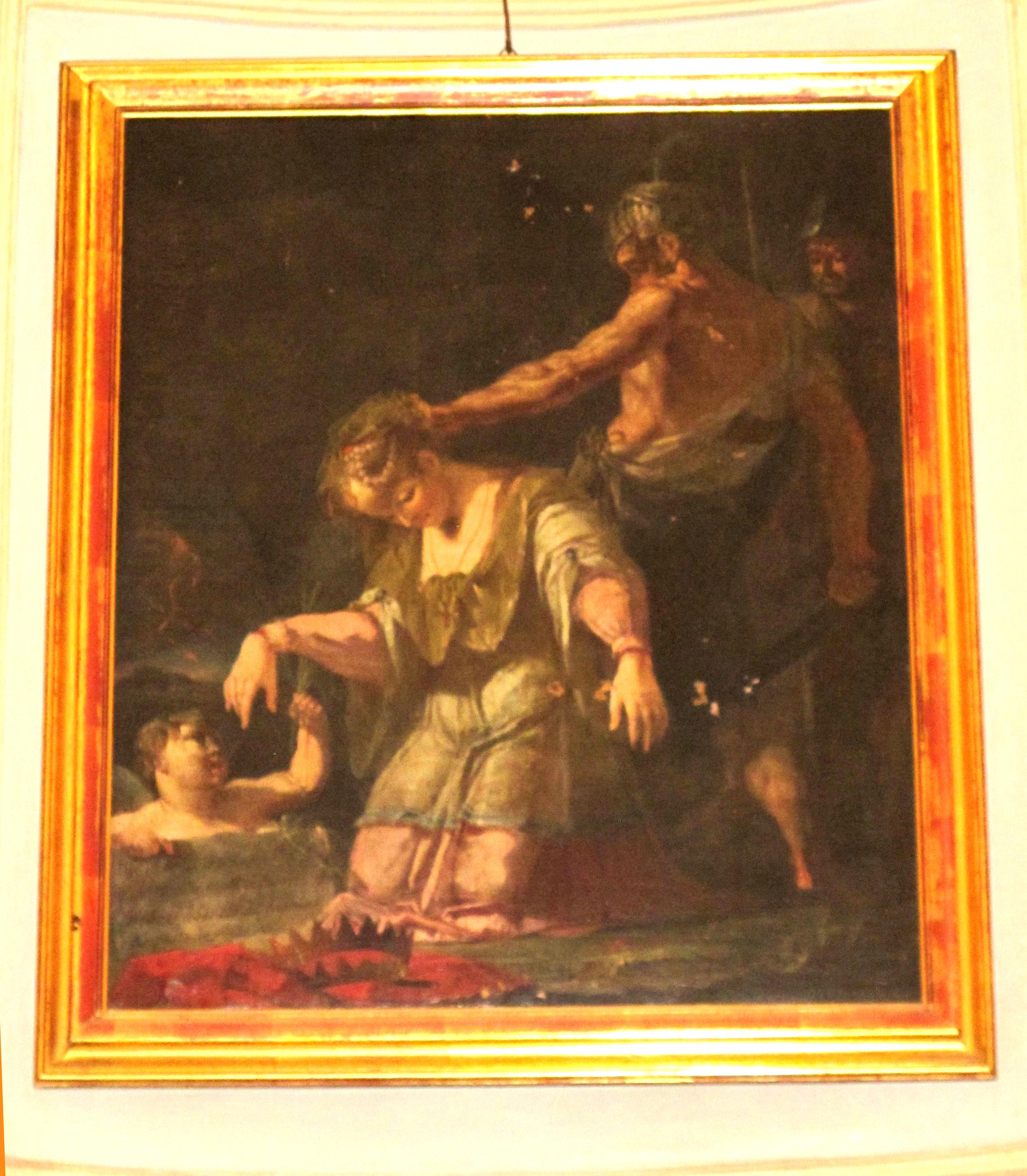 P. Fea. Martirio di Sant'Eurosia