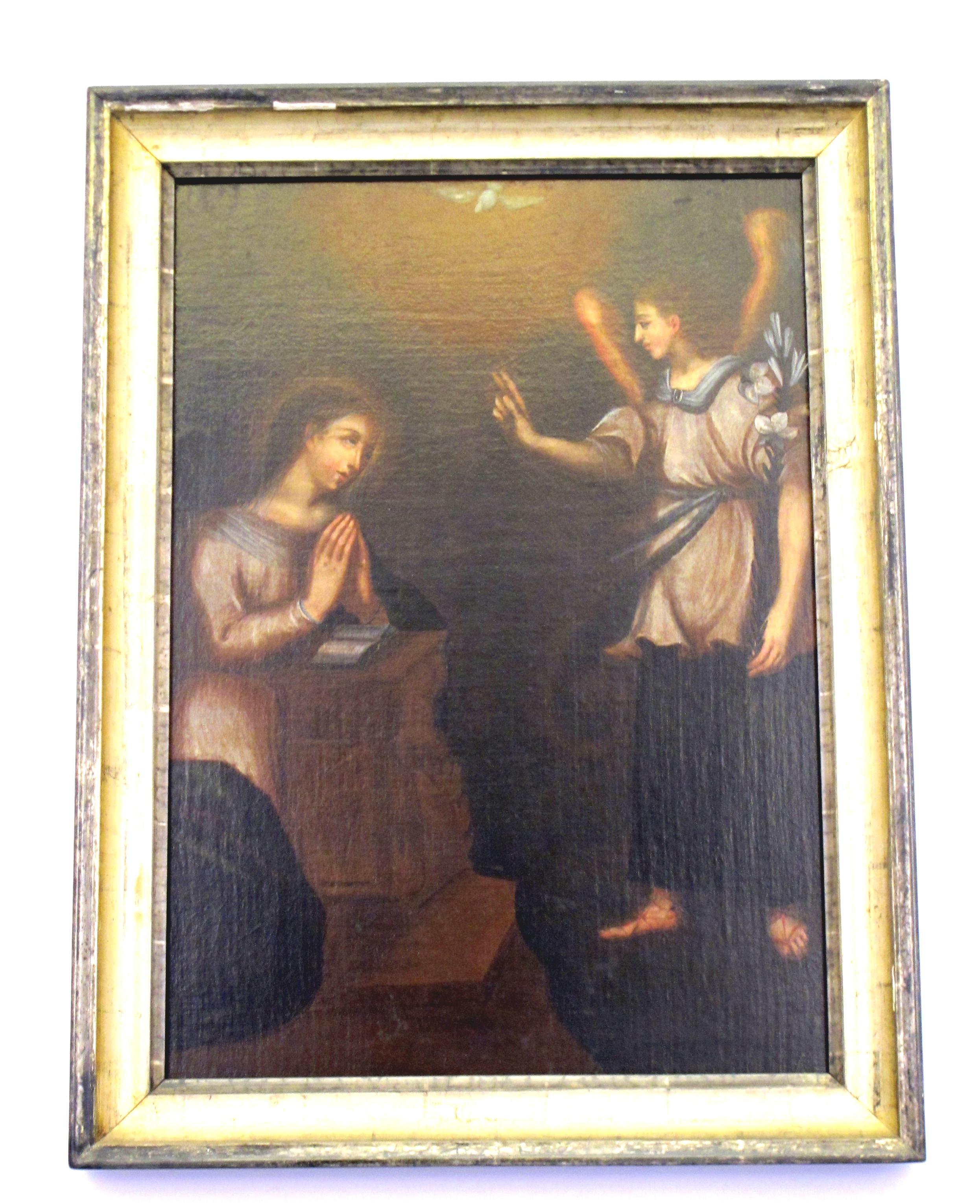 Anonimo moncalvesco. Annunciazione (XVII sec.).