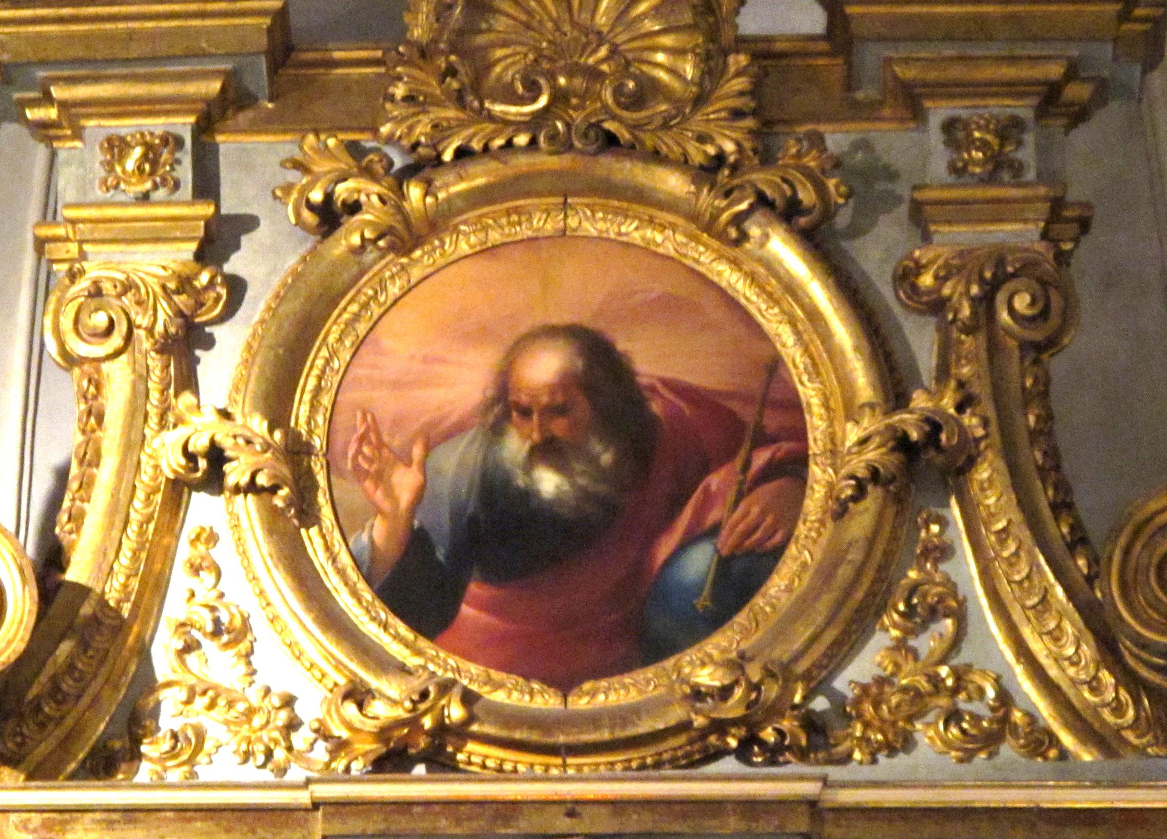 Anonimo, Eterno Padre benedicente (XVII sec.)