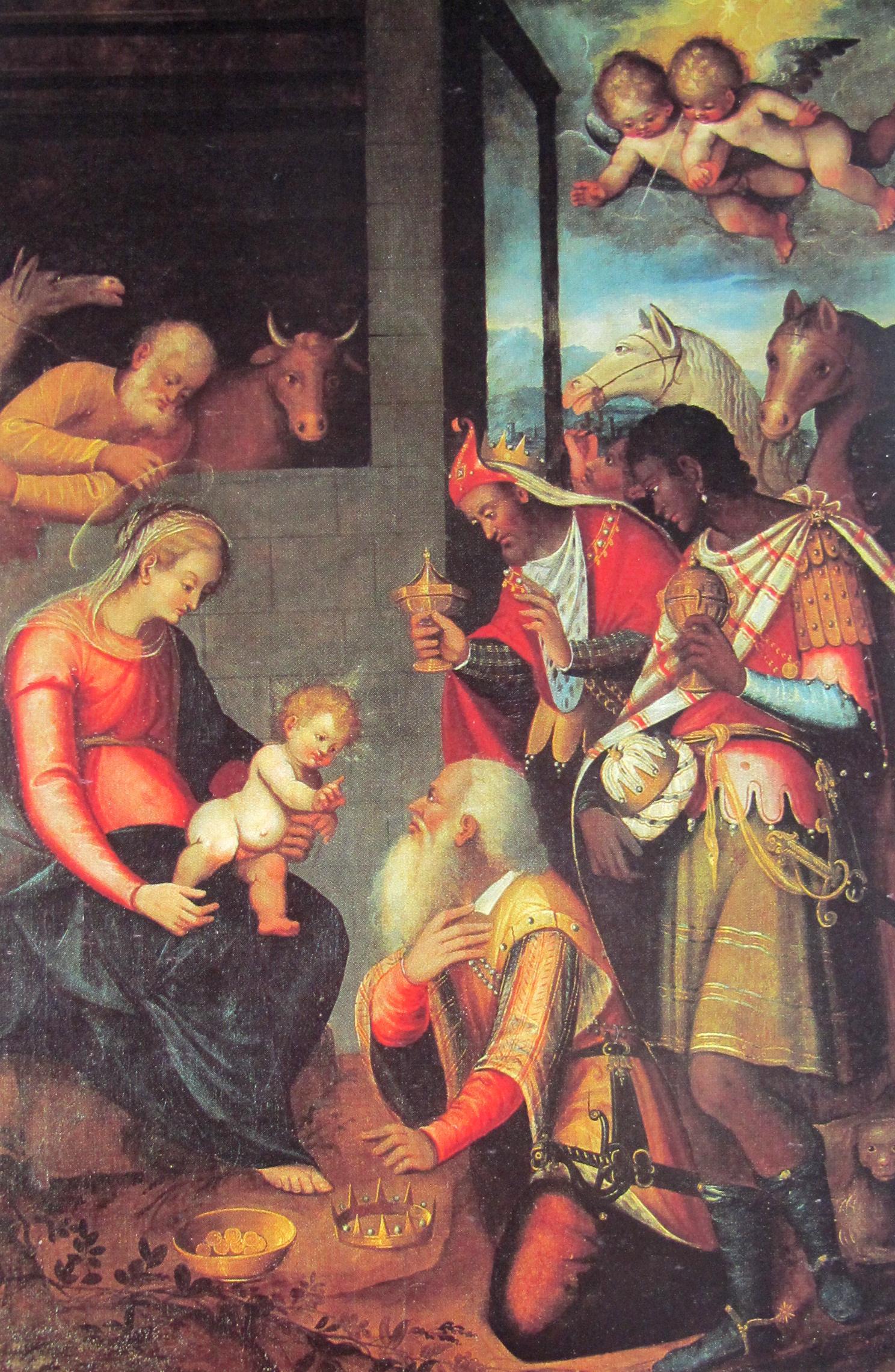 Francesco Fea, Adorazione dei Magi (ante 1632)