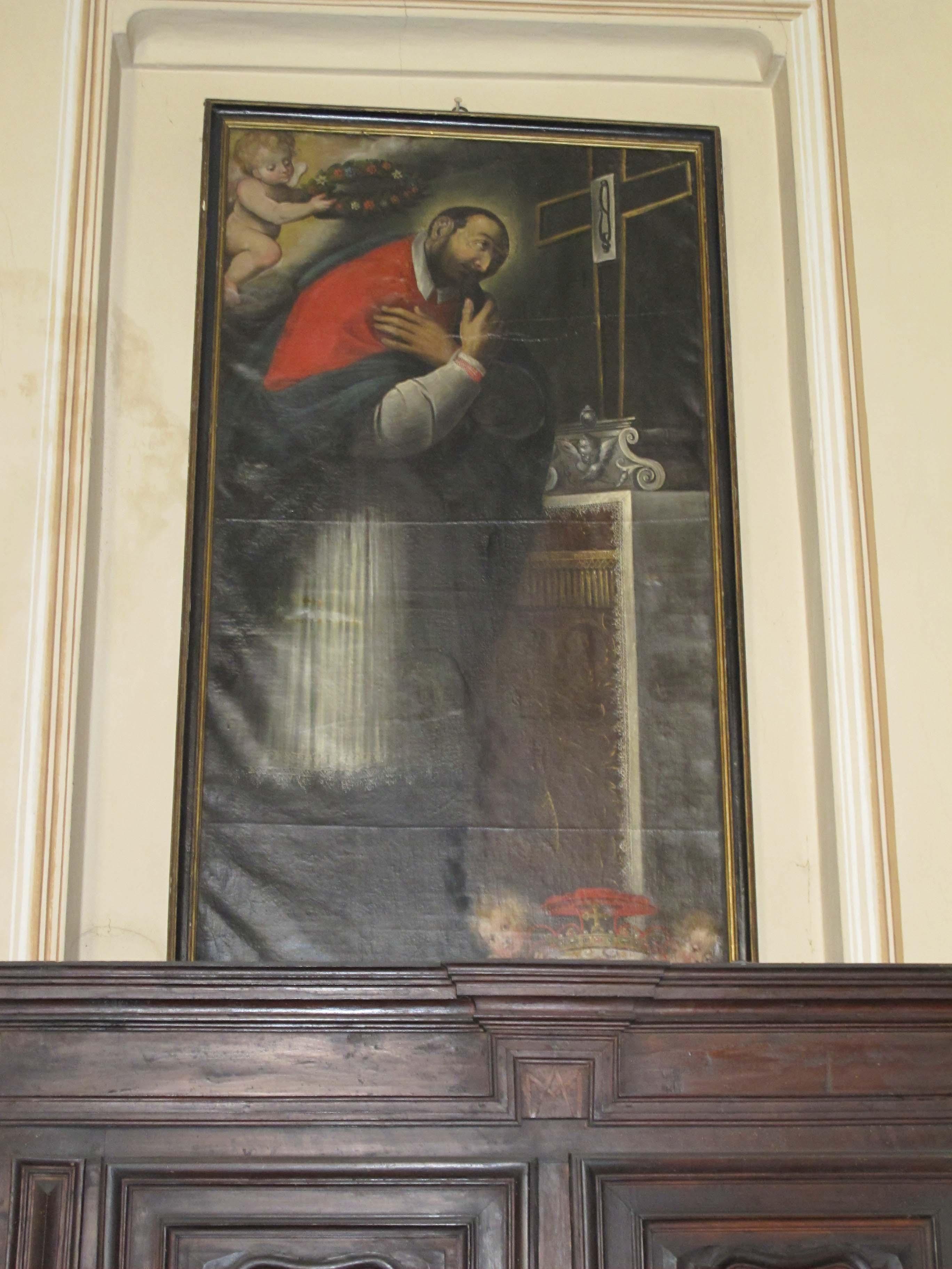 FRANCESCO FEA, San Carlo Borromeo venera il Sacro Chiodo, 1626.