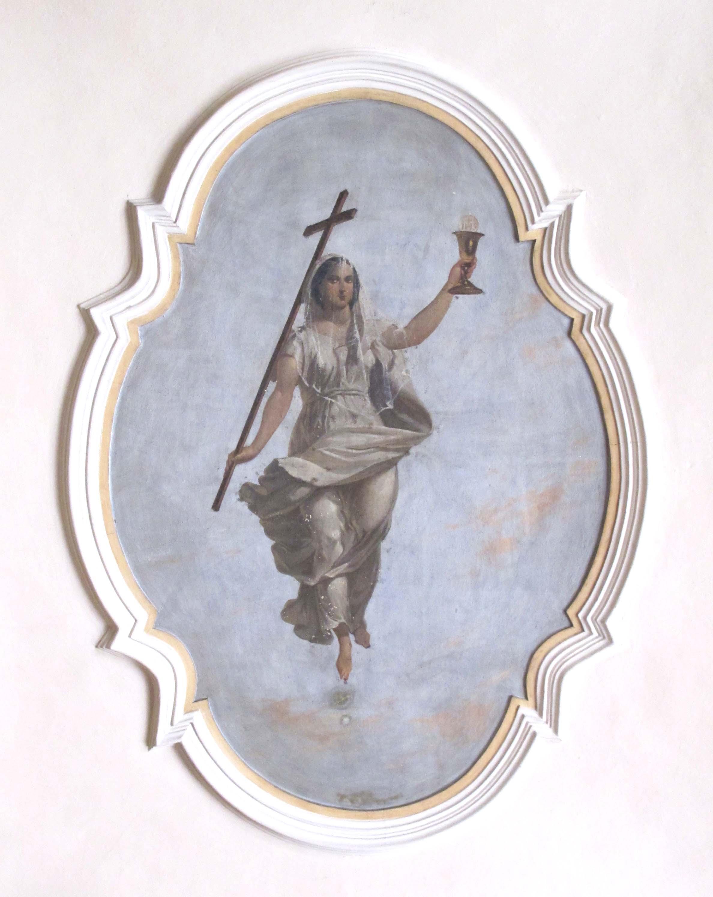 IGNOTO AUTORE LOCALE, La Fede (inizio sec. XX).