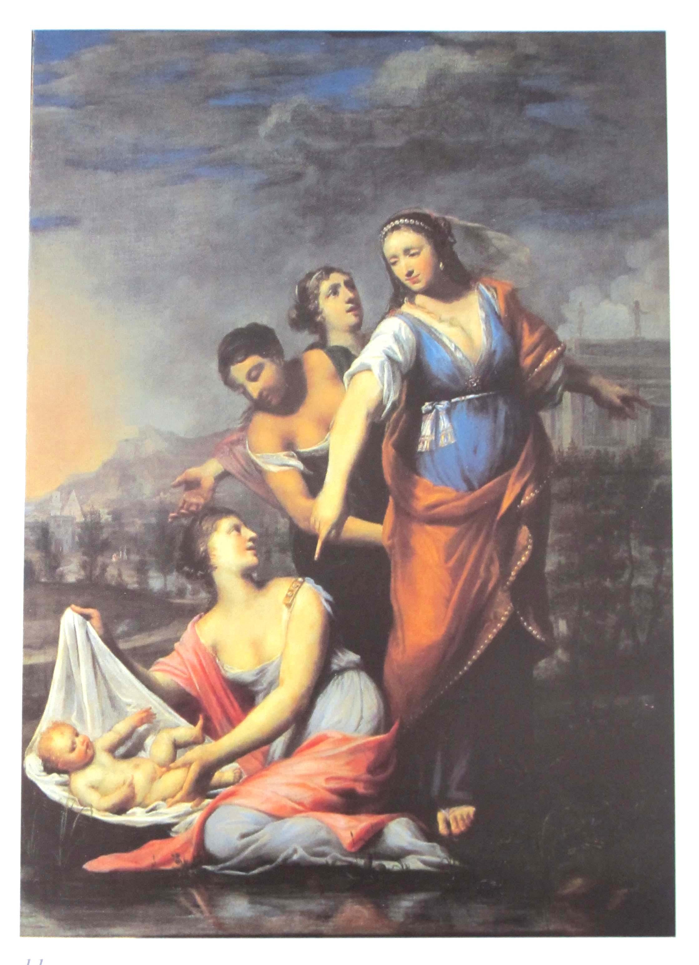 GIOVANNI FRANCESCO SACCHETTI, Mosè salvato dalle acque (1665-70 ca.).