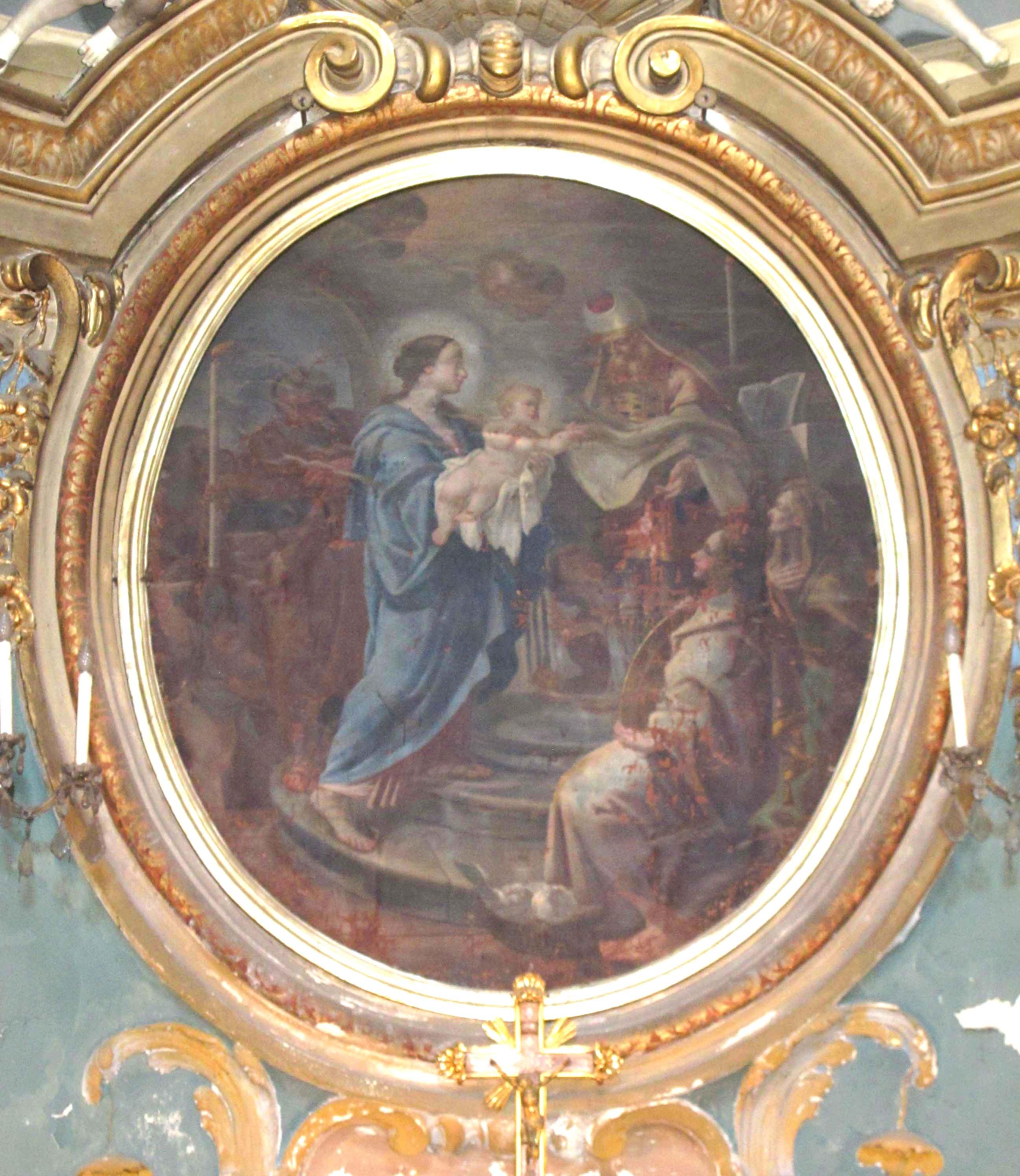 IGNOTO PITTORE PIEMONTESE, Presentazione di Gesù al tempio e Purificazione di Maria SS. (1772 ca.)