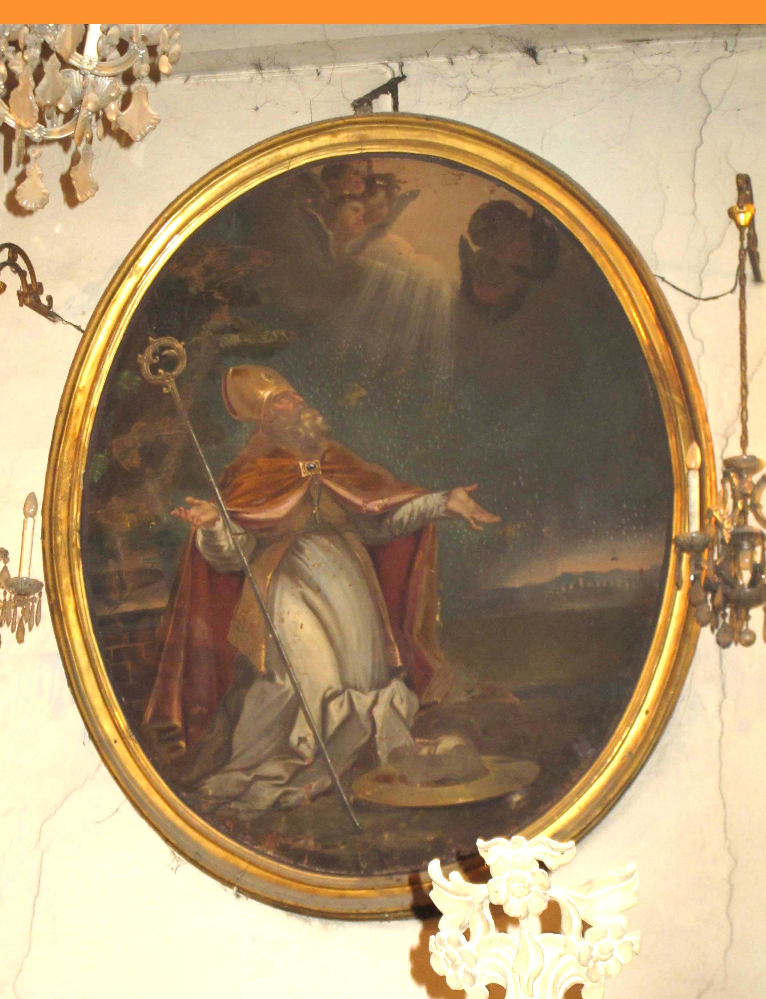 IGNOTO AUTORE PIEMONTESE, San Grato vescovo di Aosta (1772 ca.)