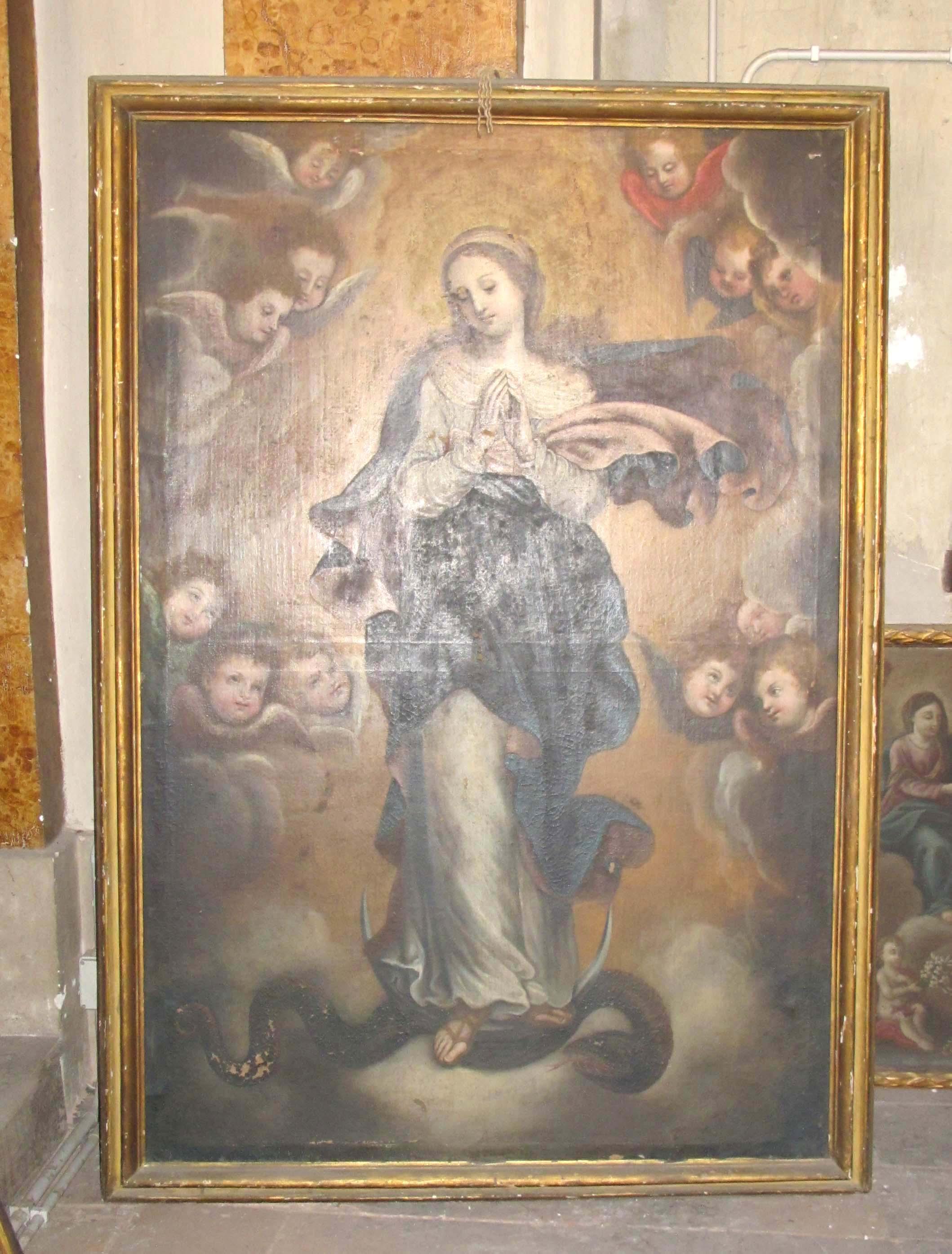 ANTONIO ANDRIETTO, Immacolata Concezione (1670-75 ca.).