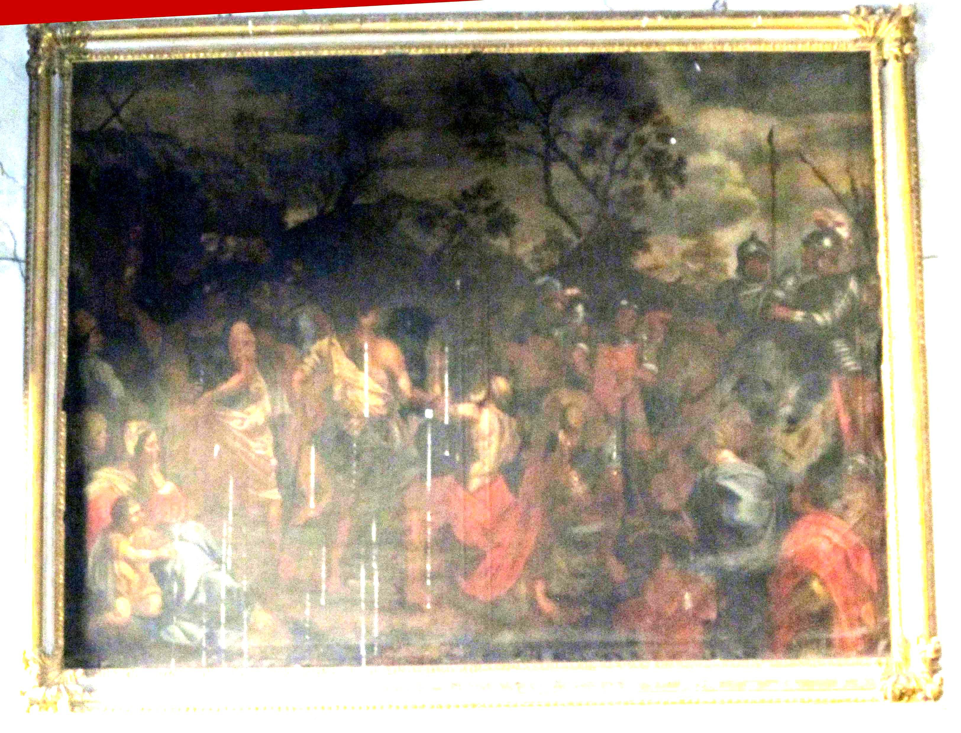 IGNOTO PITTORE ROMANO, Sant'Andrea condotto al martirio (sec. XVII)