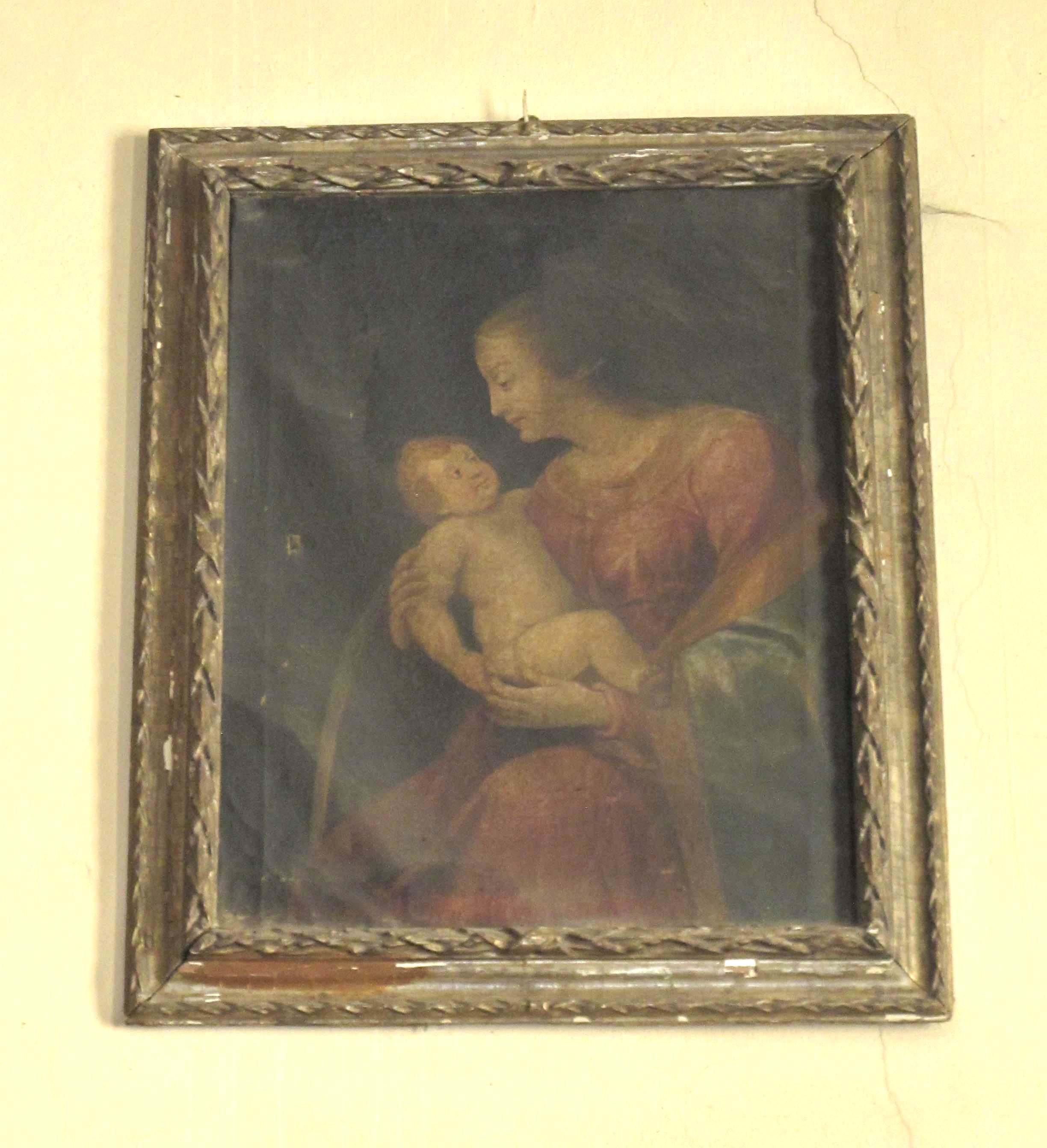 SCUOLA DEL MONCALVO, Madonna col Bambino (inizio sec. XVII)