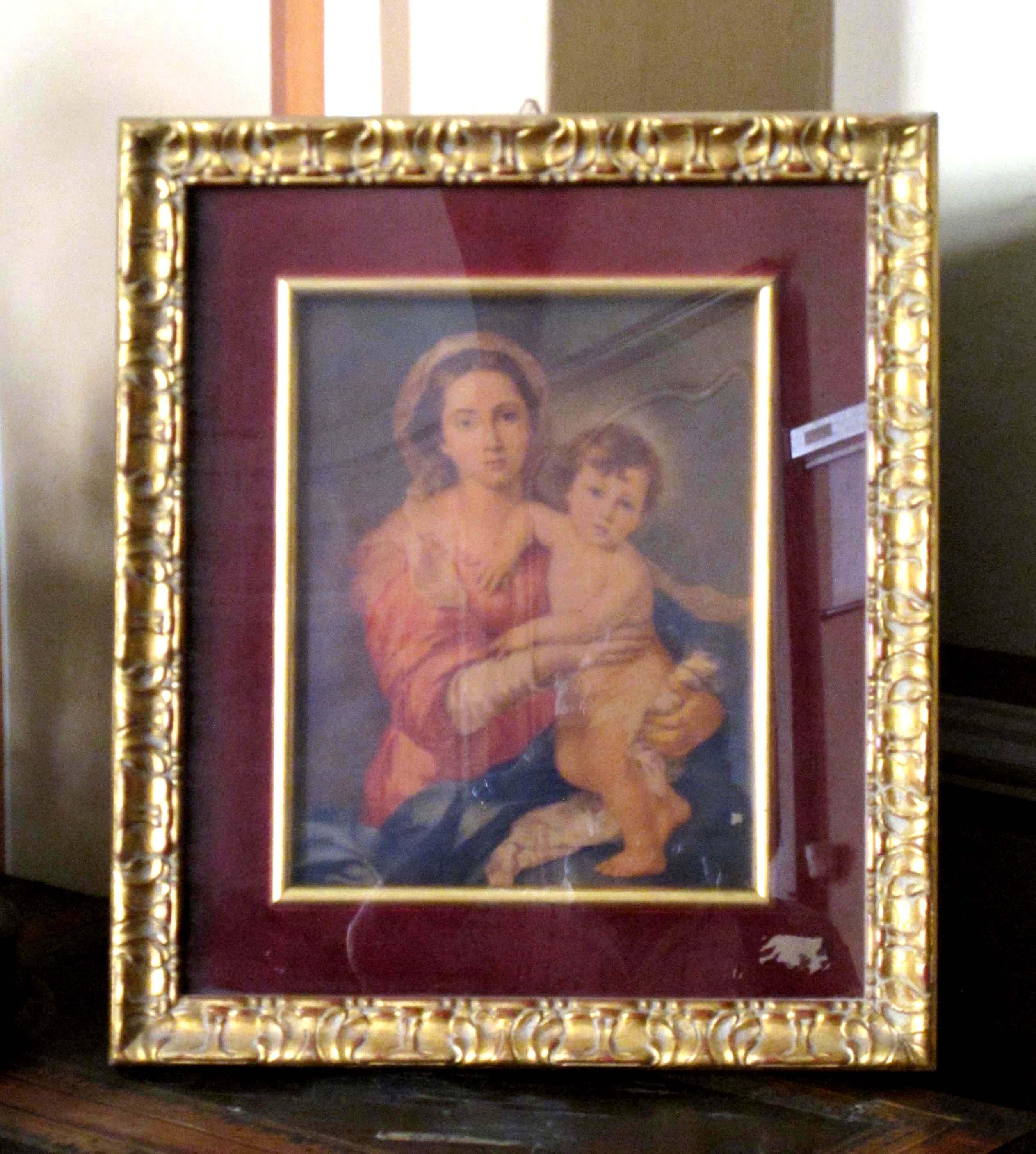 Madonna col Bambino.