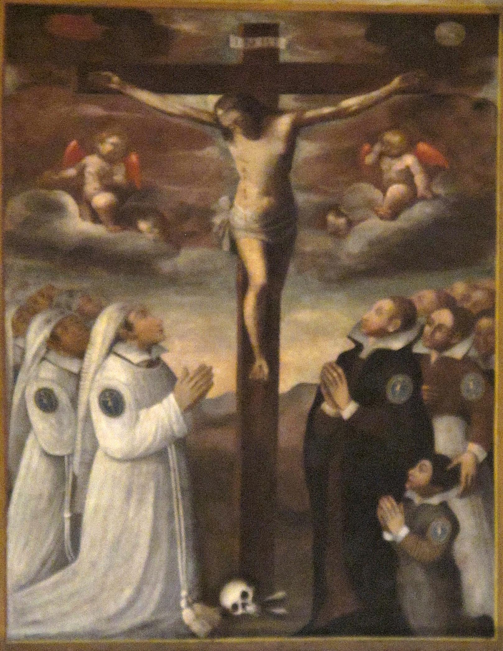 FEA Francesco. Stendardo della Confraternita di Santa Croce (1622)