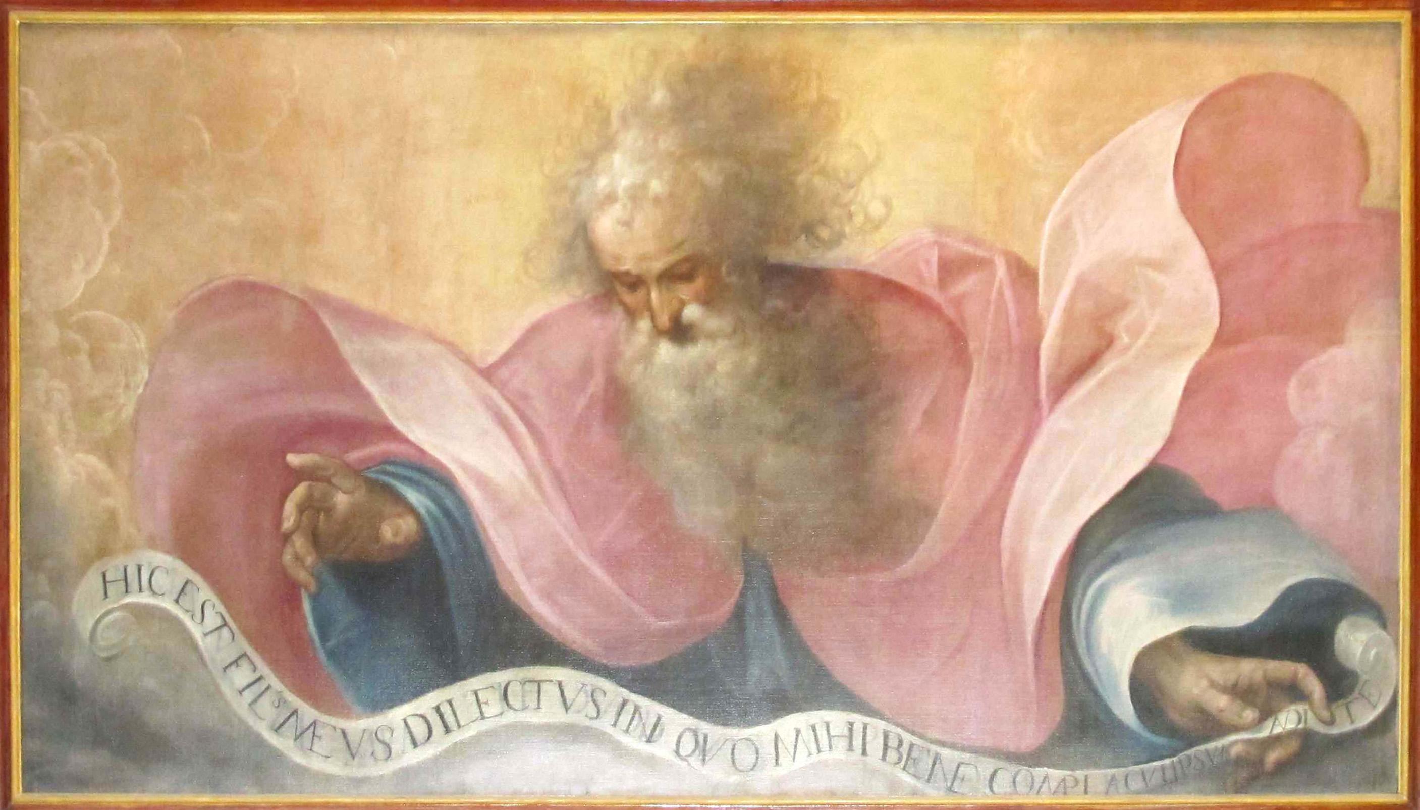 CACCIA GUGLIELMO (Il Moncalvo), L'Eterno Padre (1615 ca.)