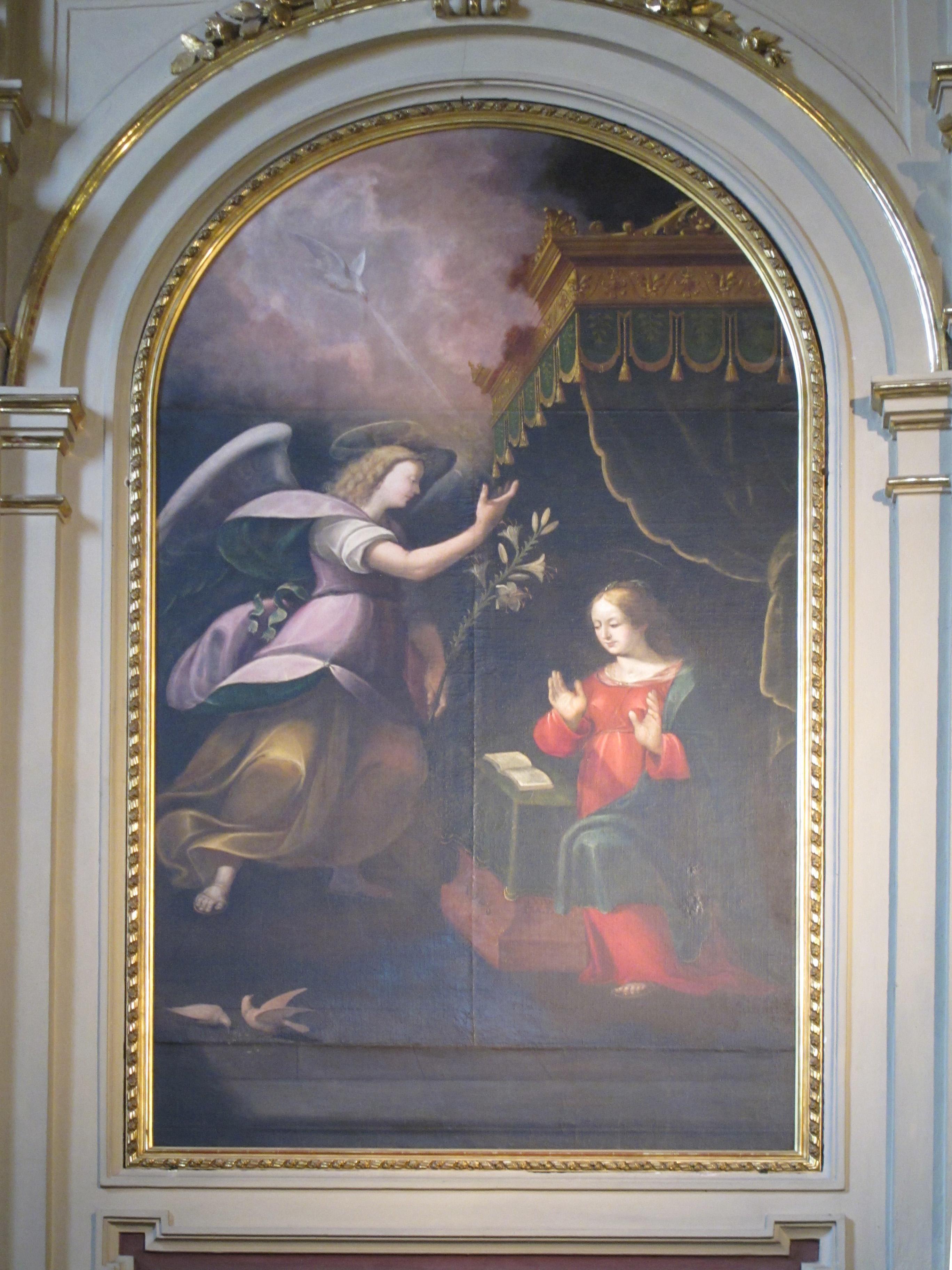 F.Fea, Annunciazione (1646)