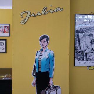 Julia a Lucca Collezionando 2018