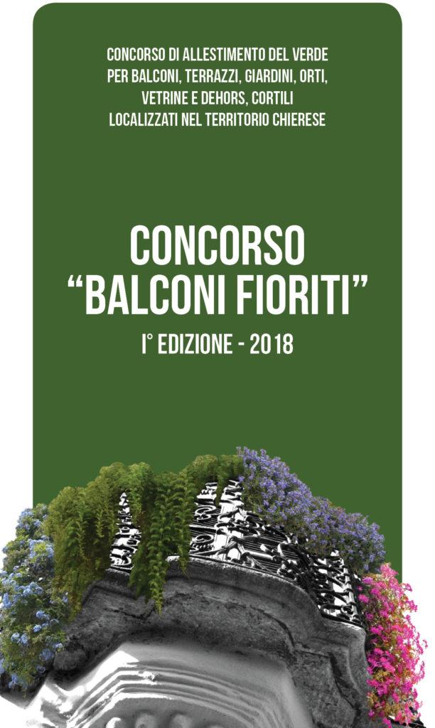 Concorso \'Balconi Fioriti 2018\' - iscrizione - CentoTorri