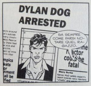 Dylan Dog arrestato
