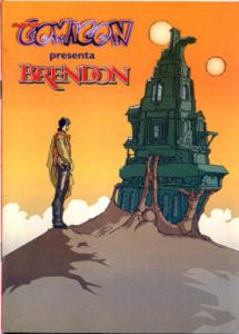 Brendon al Comicon