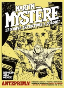 versione ashcan Martin Mystère NAC