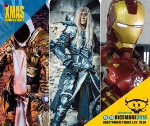 Cosplay a Xmas Comics