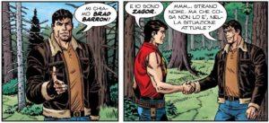 Brad Barron incontra Zagor