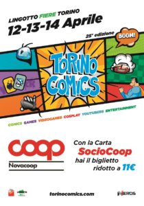 manifesto Torino Comics 2019
