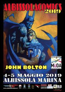 John Bolton ad Albissola Comics