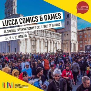 Lucca Comics al Salone del Libro XXXII