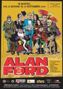 50 anni insieme Alan Ford al Museo del Fumetto