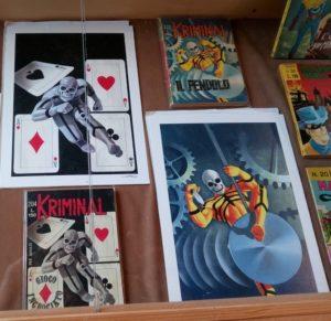 illustrazioni e cover Cortez per Kriminal
