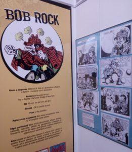 Bob Rock al Museo del Fumetto
