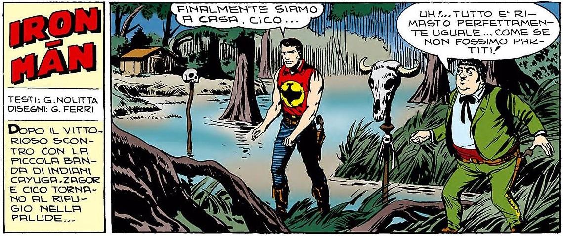 Iron-Man striscia iniziale