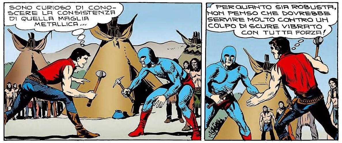Zagor contro Iron-Man
