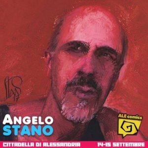 Angelo Stano ad ALEcomics 2019