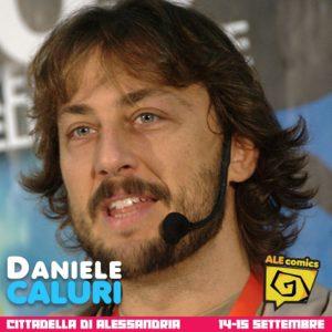 Daniele Caluri ad ALEcomics 2019