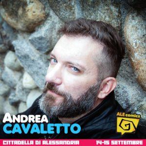 Andrea Cavaletto ad ALEcomics
