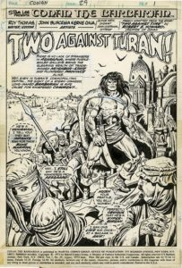 Conan di John Buscema