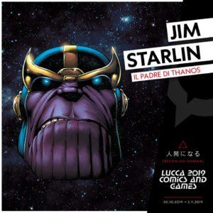 Jim Starlin a Lucca Comics