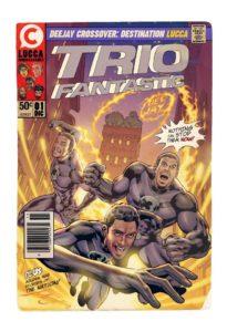 il Trio Medusa a Lucca Comics