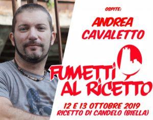 Andrea Cavaletto a Fumetti al Ricetto