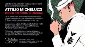 tavole originali di Micheluzzi alla Little Nemo Art Gallery di Torino