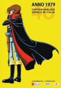 Capital Harlock 40 anni in Italia