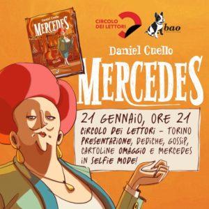 Mercedes al Circolo dei Lettori di Torino