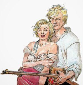 Ken Parker e Marilyn Monroe
