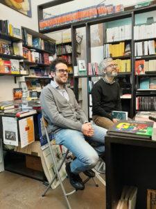 Emanuele Rosso alla Libreria Therese di Torino